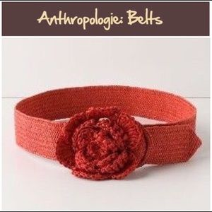 Miss Albright red flower belt